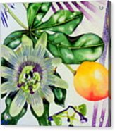 Passion In The Tropics Acrylic Print