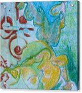 Pastel 18 Acrylic Print