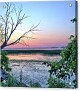Pastel Clear Lake 3 Acrylic Print