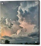 Pastel Clouds Acrylic Print