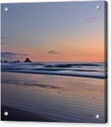 Pastel Coastline Acrylic Print