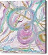 Pastel Pots Acrylic Print