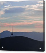 Pastel Skies Acrylic Print