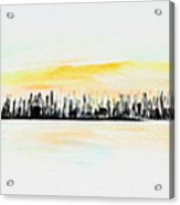 Pastel Smmer Sky Acrylic Print