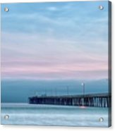 Pastel Sunset Acrylic Print