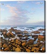 Pastel Tone Seaside Sunrise Acrylic Print
