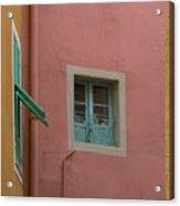 Pastel Windows Acrylic Print
