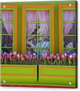 Pastle Windows Acrylic Print