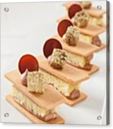 Pastry By The Famous Chef Antonio Acrylic Print