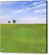 Pasture Land Acrylic Print