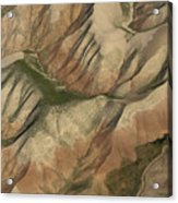 Pastures And Valleys Acrylic Print