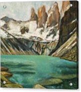 Patagonia Acrylic Print
