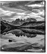 Patagonia Lake Reflection #2 - Chile Acrylic Print