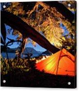 Patagonia Landscape Camping Acrylic Print
