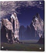 Patagonian Mountain  Acrylic Print