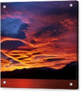 Patagonian Sunrise Acrylic Print