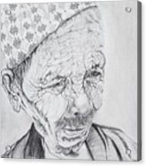 Patan Acrylic Print