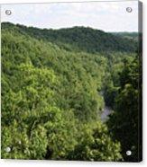 Patapsco Valley State Park - Overlook Acrylic Print