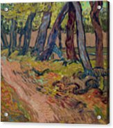 Path In The Garden Of The Asylum, By Vincent Van Gogh, 1889, Kro Acrylic Print