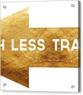 Path Less Traveled-  Art By Linda Woods Acrylic Print