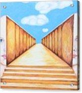 Path Of Unity Acrylic Print