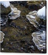 Path Through The Ice Acrylic Print