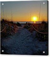 Path To Beach Acrylic Print