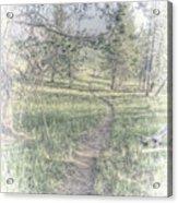 Path To Life Is Narrow Acrylic Print