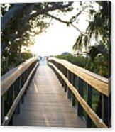 Path To Marco Island Beach Acrylic Print