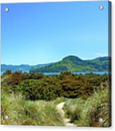 Footpath To Nestucca River Acrylic Print