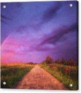 path to Phantasiland Acrylic Print
