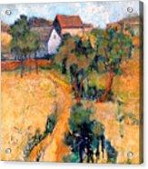Path To The Barns Acrylic Print