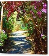 Path To The Gardens Acrylic Print