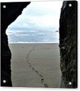 Path To The Ocean Acrylic Print