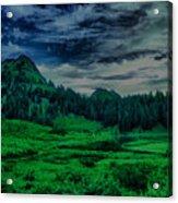Path To Tipsoo Lake Acrylic Print