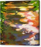 Pathway Glitter Acrylic Print