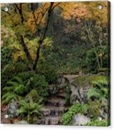 Pathway Into Fall Acrylic Print