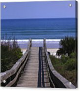 Pathway To The Beach Acrylic Print