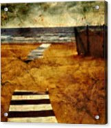 Pathway To The Sea II Acrylic Print