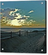 Pathway To The Sunrise Acrylic Print