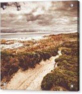 Pathways To Seaside Paradise Acrylic Print