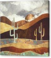 Patina Desert Acrylic Print