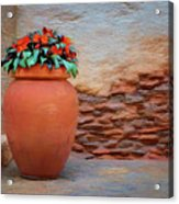 Patio Corner Acrylic Print