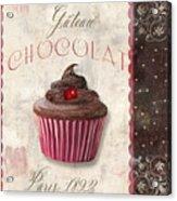 Patisserie Chocolate Cupcake Acrylic Print