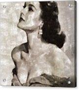 Patricia Medina, Vintage Actress Acrylic Print