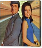 Patrick Macnee And Diana Rigg, The Avengers Acrylic Print