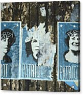 Patriot Acrylic Print