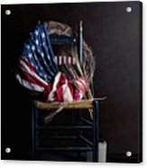 Patriotic Decor Acrylic Print
