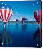 Patriotic Hot Air Balloon Acrylic Print