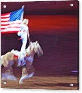 Patriotic Light Acrylic Print